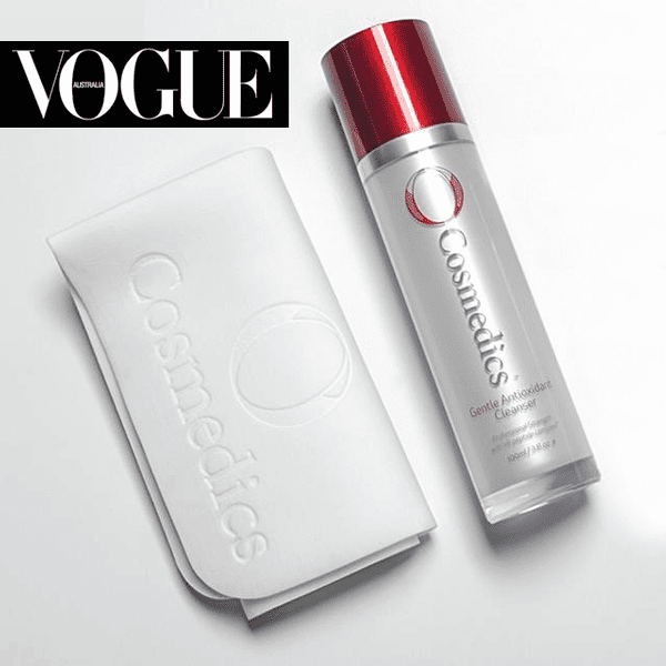 Vogue Australia says: If you're investing in the very best skincare but your complexion still isn't up to scratch, chances are you're not removing all of your make-up, which allows it ample opportunity to nuzzle into pores and promote free radical damage overnight. If you wear a lot of cosmetics, try a makeup removing towel such as O Cosmedics The Skin Shammy.
